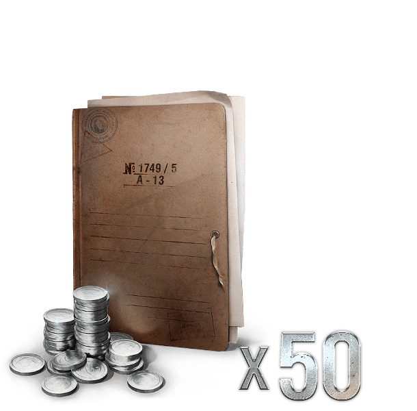 50 CREDITS BOOSTERS